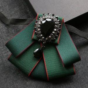 Fabric Bow Tie Collar
